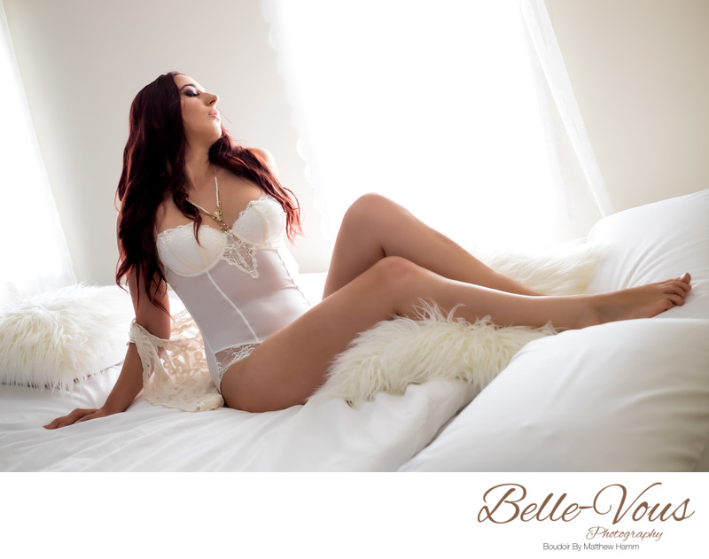 Bridal Shape wear Boudoir Photos