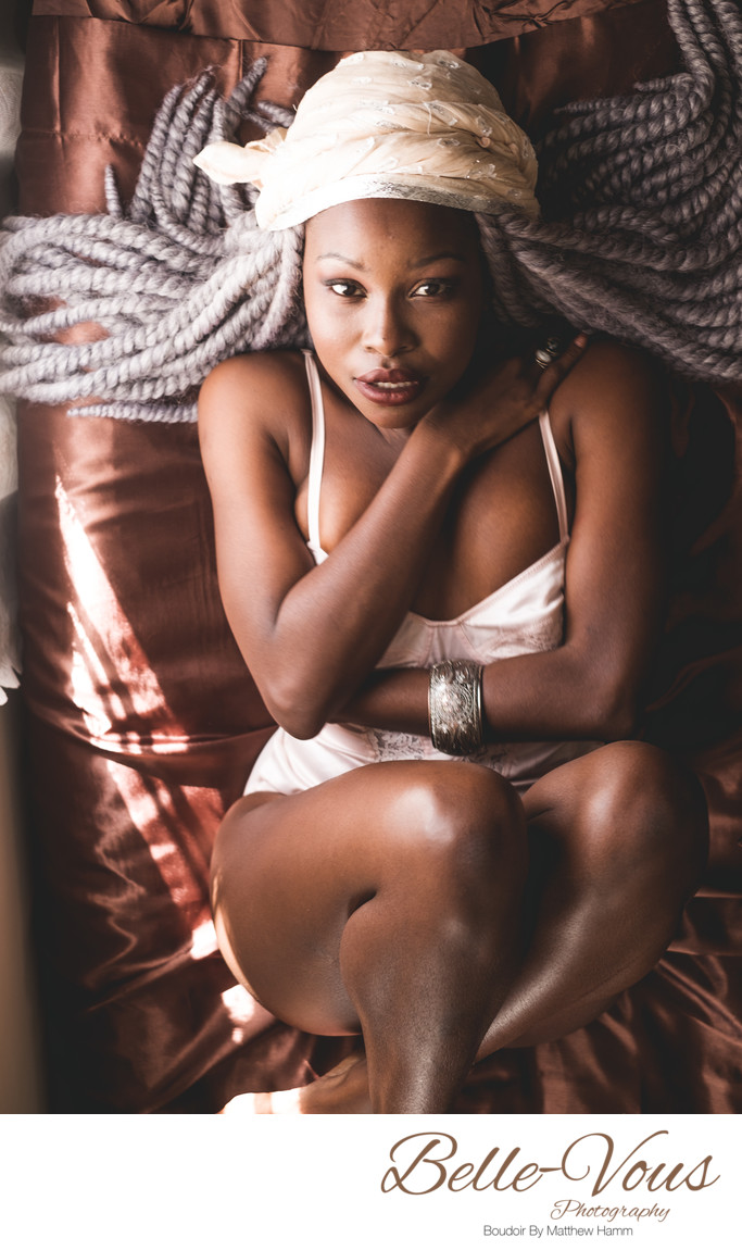 Black Women Are Beautiful In Boudoir Photos
