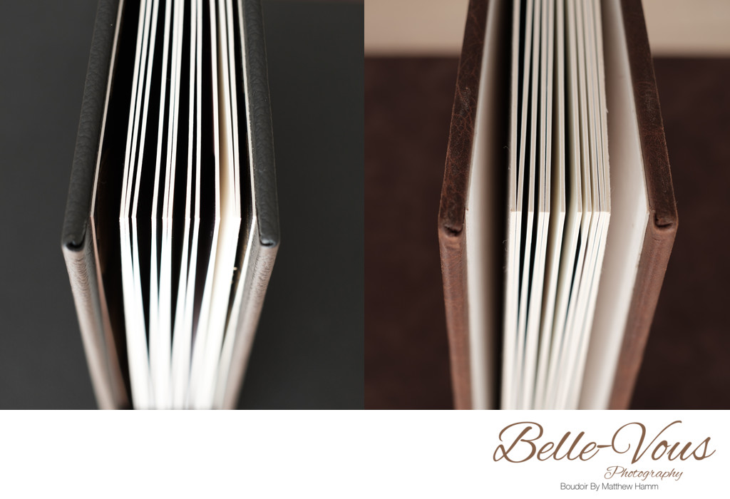 Boudoir Albums Page Thicknesses