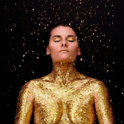 High Concept Glitter Art Nude Brisbane