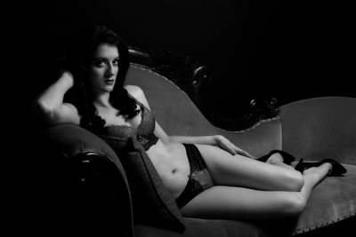 Retro Black And White Pinup Photos Brisbane