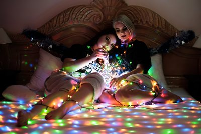 Brisbane Boudoir with Christmas Lights