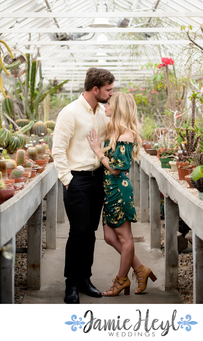 New Orleans Botanical Garden Engagement photo