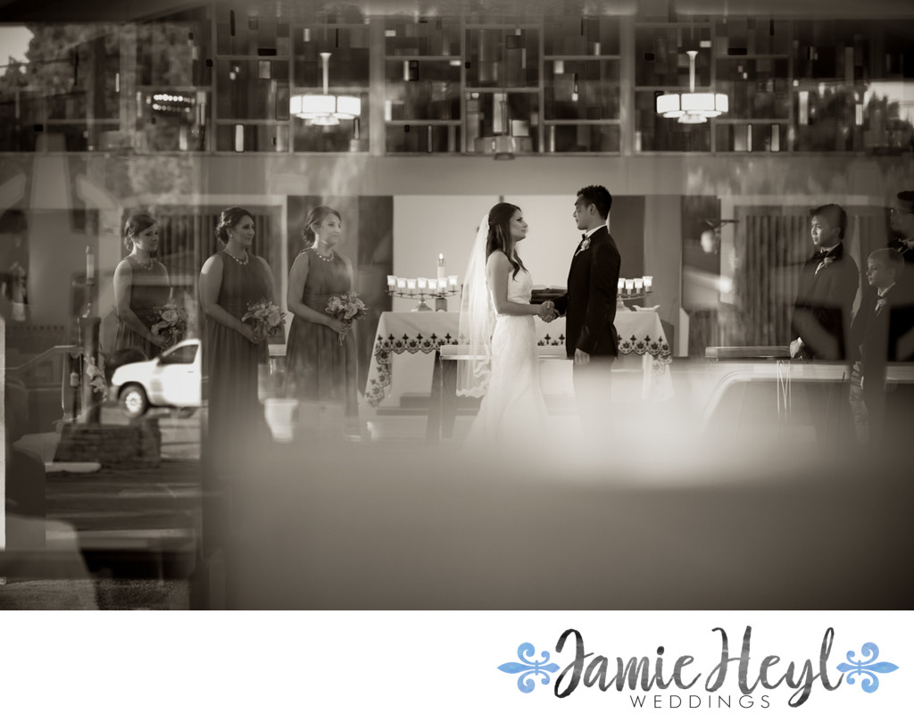 Holy Cross Church Wedding Photos