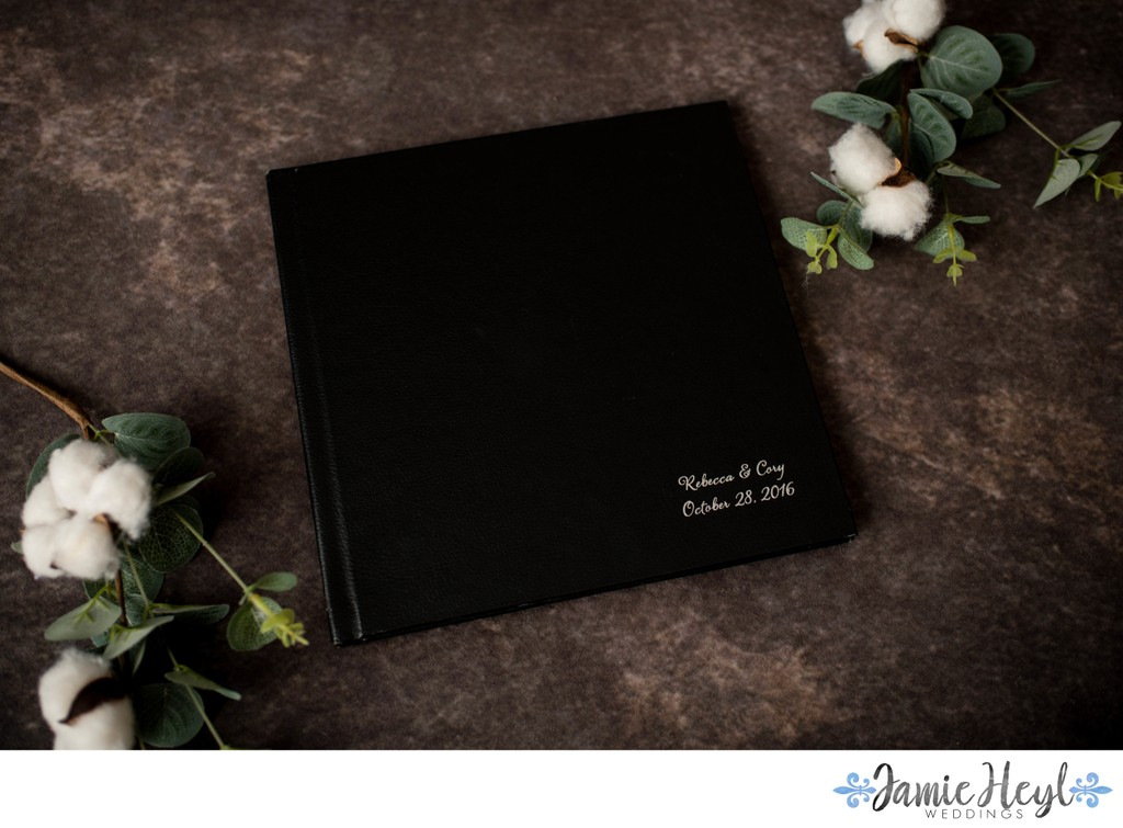 Black Leather Coffee Table Book
