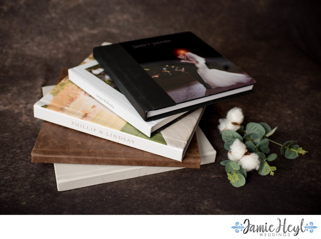 Leather Image and Acrylic Signature Albums