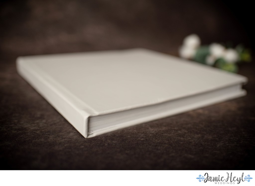 Soft gray leather Signature Album