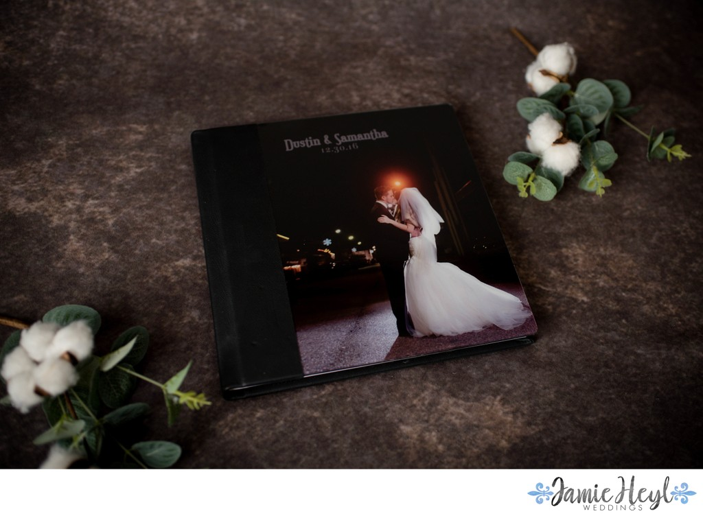 Acrylic Covered Image on Signature Album