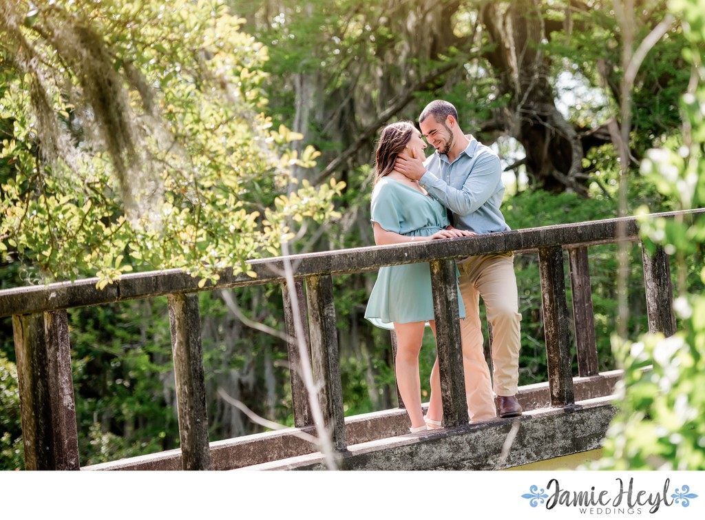 New Orleans City Park engagement pictures