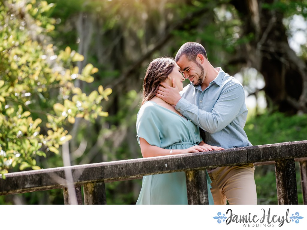City Park engagement session