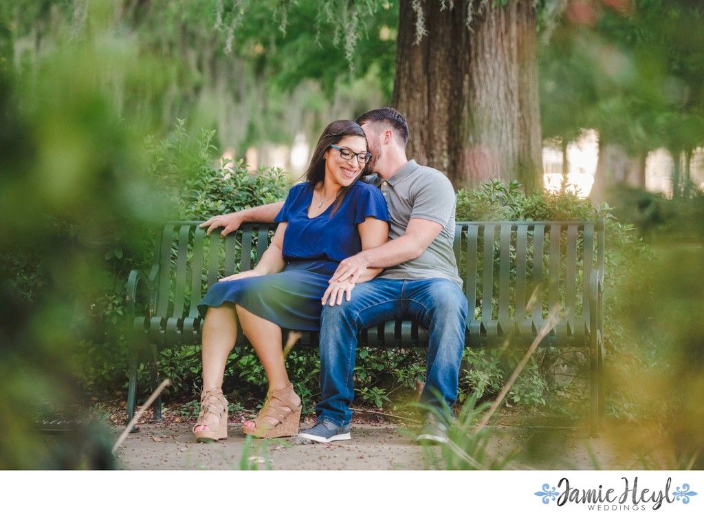 Cypress Gardens engagement photos