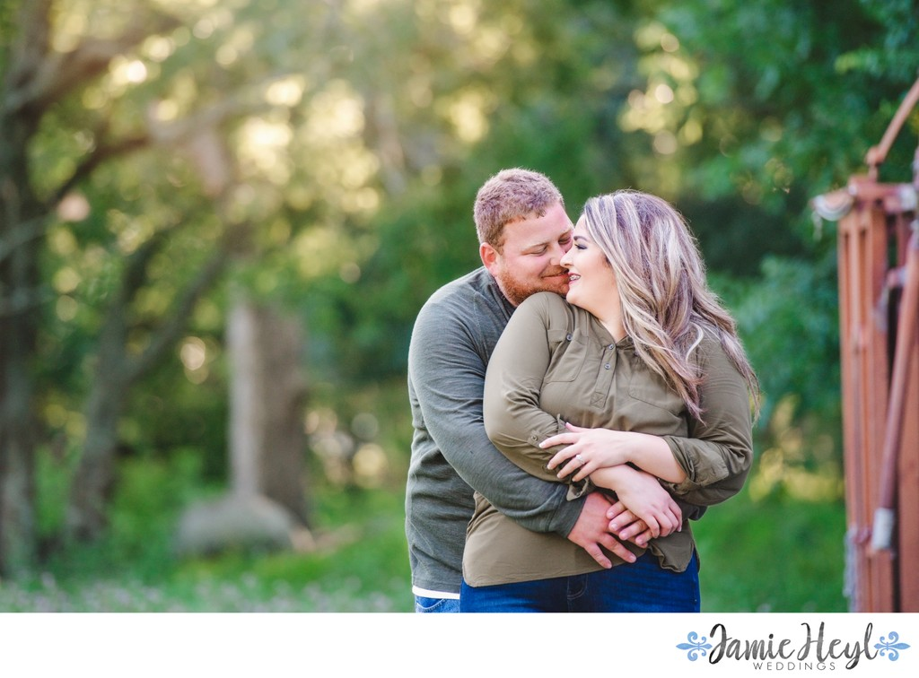 Engagement photography in Thibodaux