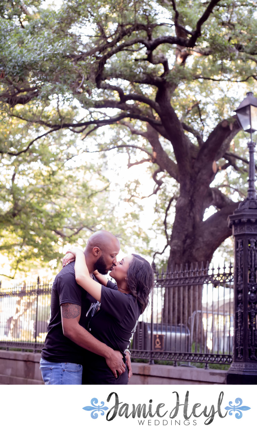 Jackson Square engagement photos