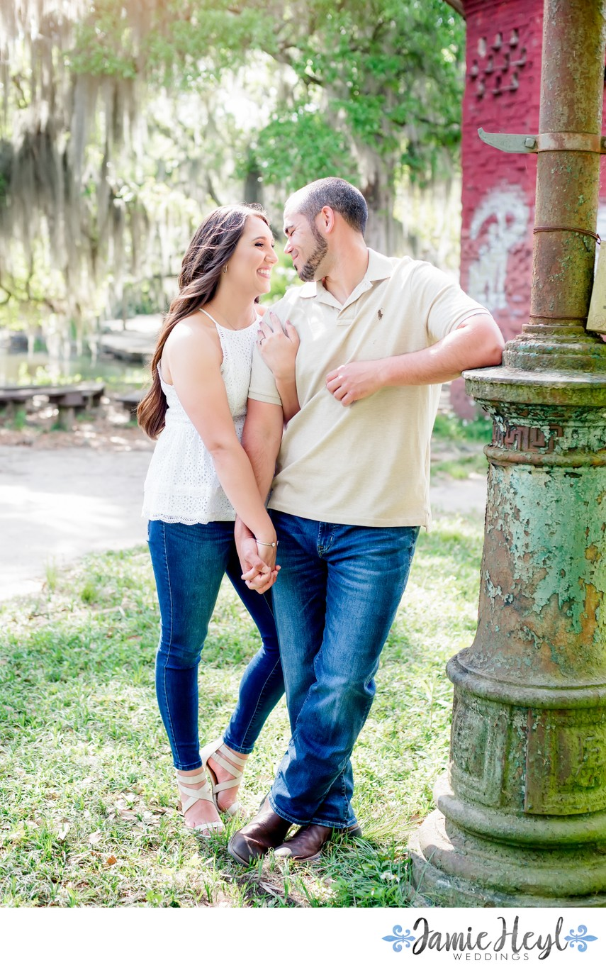 New Orleans engagement photographs