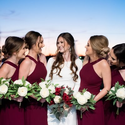 Bridal Party on Morgan City Riverfront