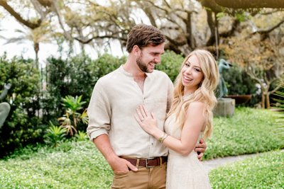 City Park Botanical Garden engagement photography