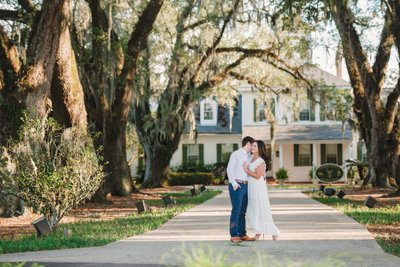 Golden Ranch Plantation engagement pictures