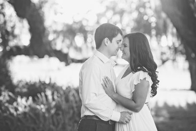Engagement photos at Golden Ranch Plantation