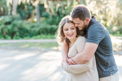 Engagement photography in New Orleans