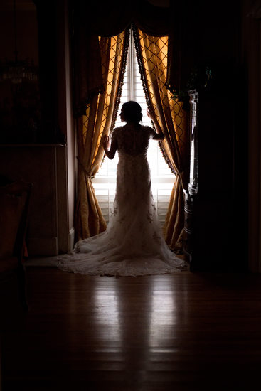 Fairfax House bridal silhouette