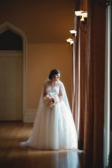 Louisiana Old State Capital bridal portrait
