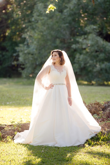 Franklin Louisiana bridal portrait