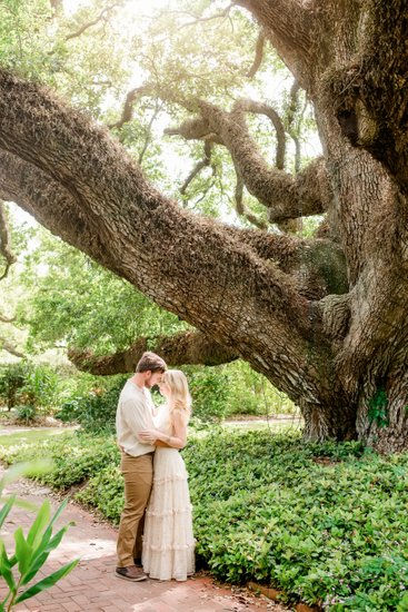 City Park Botanical Garden engagement photos