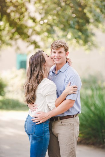 Engagement photos at LSU