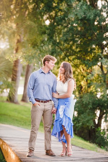 Engagement photos at Arsenal Park Baton Rouge
