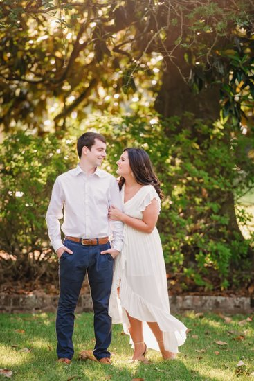 Golden Ranch Houma engagement photographer