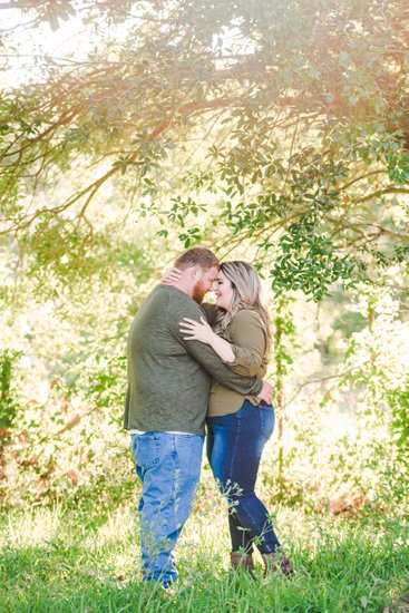 Engagement photographer in Thibodaux