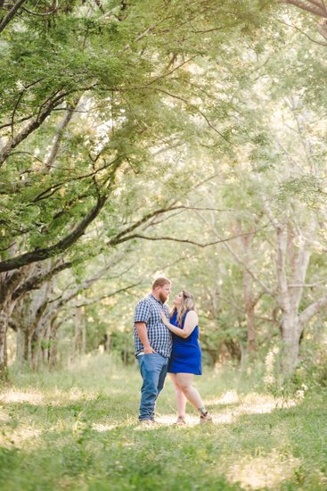 Thibodaux engagement photography