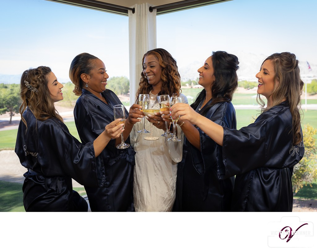 Bridal Party Portraits  Wedgewood Las Vegas Photography