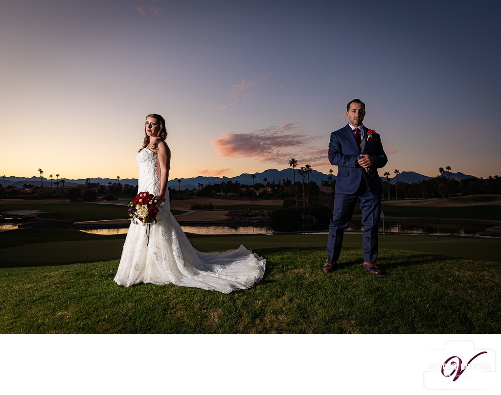 Canyon Gate Las Vegas Fall Wedding Photography