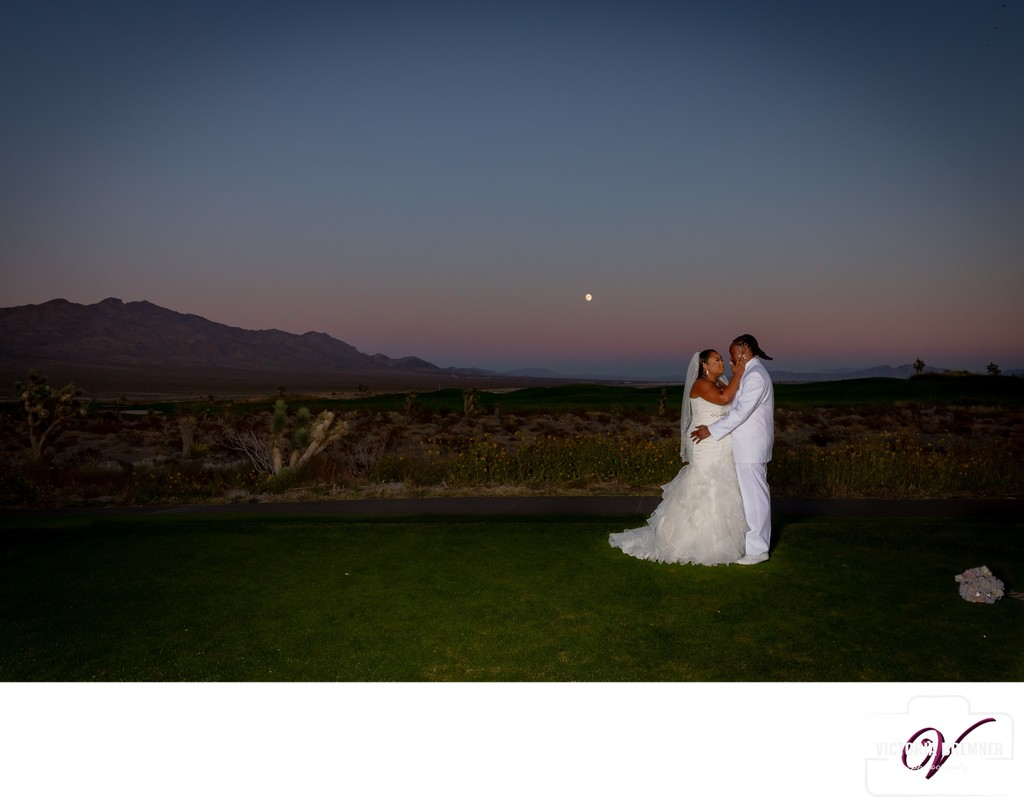 Las Vegas Paiute Golf Resort Wedding