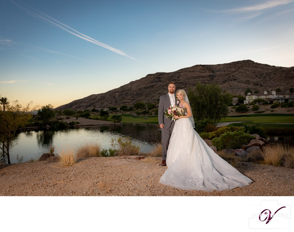 Red Rock Country Club Wedding Photograph