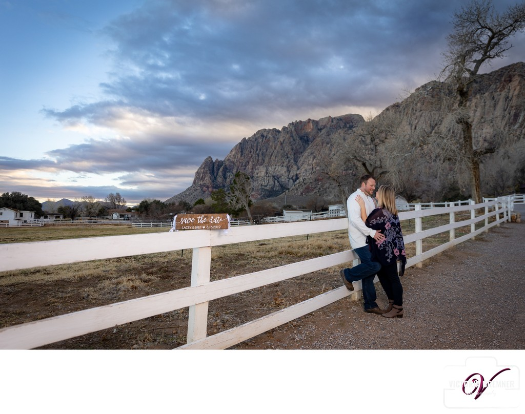 Las Vegas Engagement Photography at Spring Mountain Ranch