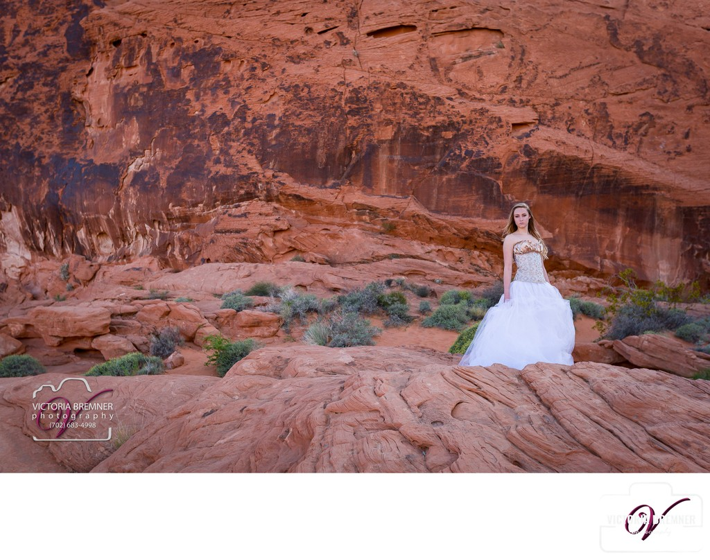 Senior Portrait Photographer Valley of Fire
