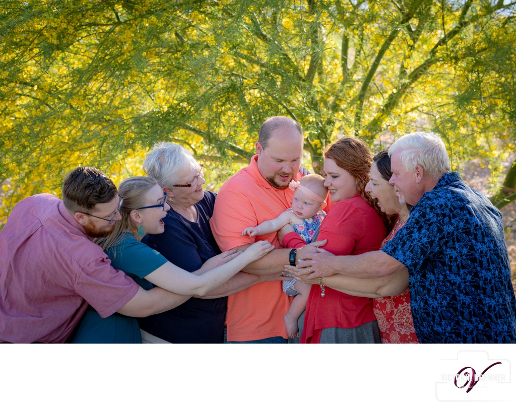 Las Vegas Family Photography Session at Outdoor Park