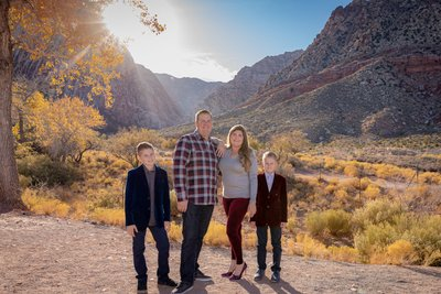Family Photography at Spring Mountain Ranch