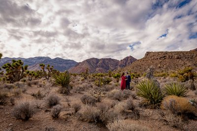 Destination Elopement in Las Vegas Desert