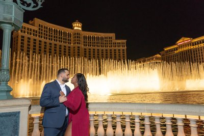 Las Vegas Strip Engagement Photos