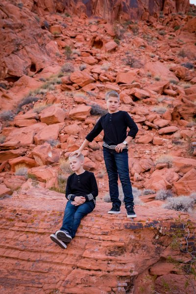Valley of Fire Family Photographer  Vegas Photography