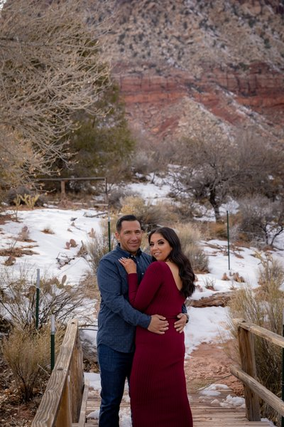 Spring Mountain Ranch Engagement photos
