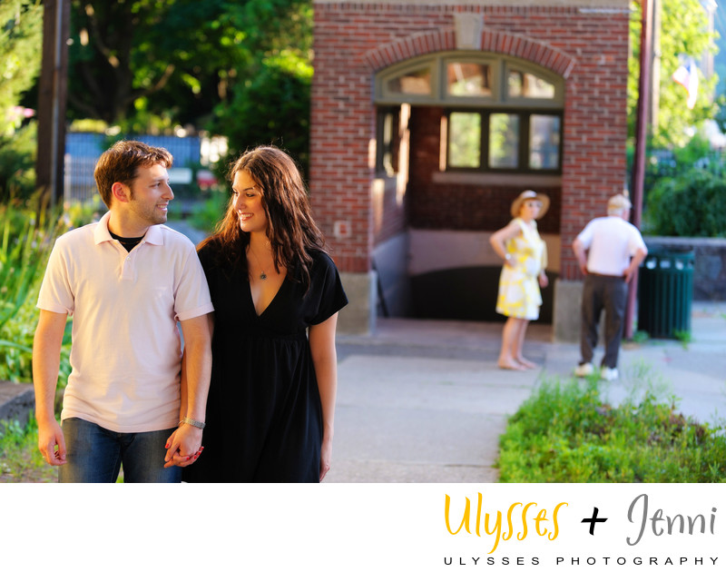 ADORABLE ENGAGEMENT IN COLD SPRING NY