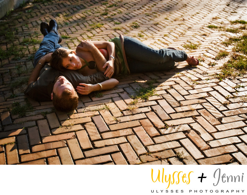 ENGAGEMENT HERRINGBONE BRICK