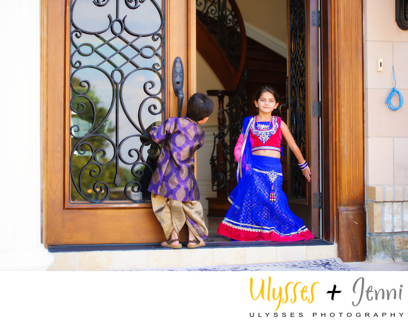 INDIAN WEDDING KIDS - ULYSSES PHOTOGRAPHY