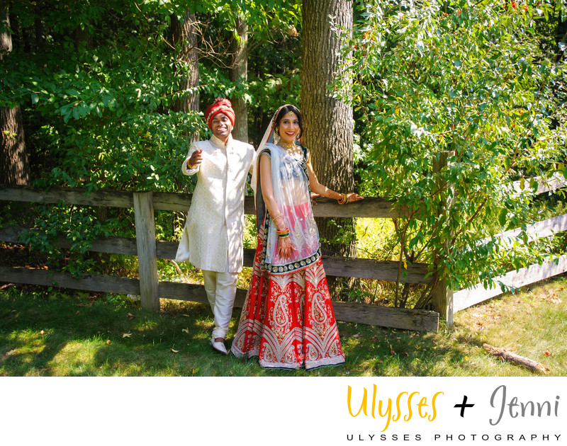 INDIAN BRIDE AND GROOM CASUAL  - ULYSSES PHOTOGRAPHY