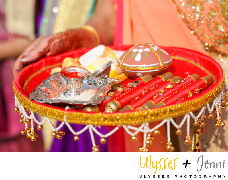 INDIAN WEDDING DETAILS  - ULYSSES PHOTOGRAPHY