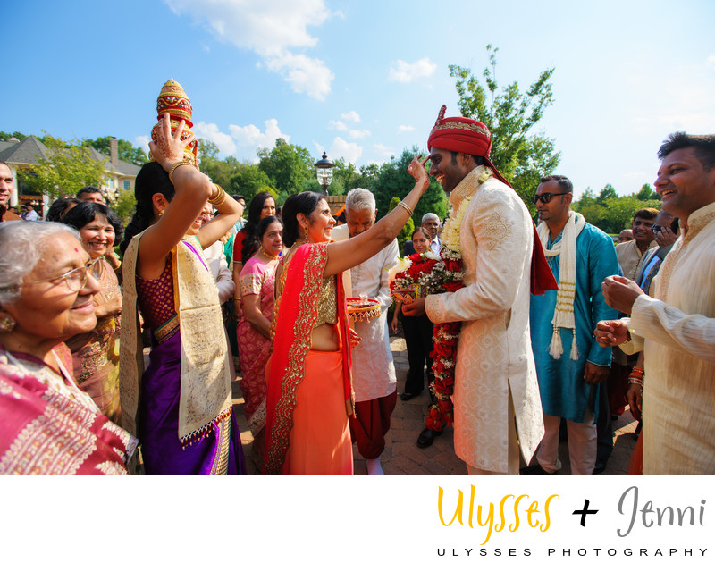 Indian Groom Ceremony